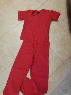 Scrubs all good Condition! Size Small to Medium $25 all in picture for Sale in Houston, TX
