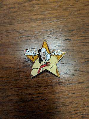 Disney LE pin 1000 Cruella Deville for Sale in Glendale, AZ