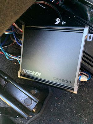 KICKER DXA800.1 CLASS D AMPLIFIER for Sale in Cleveland, OH