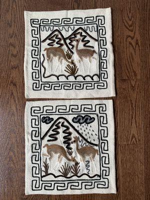 Peruvian Handmade Pillow Cases for Sale in Centreville, VA