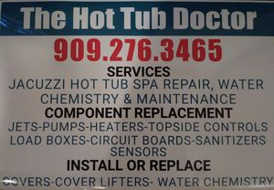 Jacuzzi - Hot tub @ repair @cleaning for Sale in Harbor City, CA