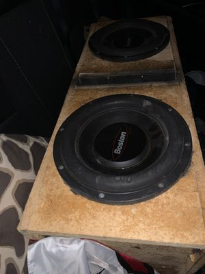 Boston Subs and 1000 watt Crunch amp for Sale in Avondale, AZ