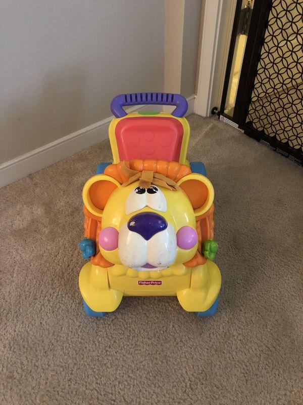 Fisher Price Push Toy Walker/Rider