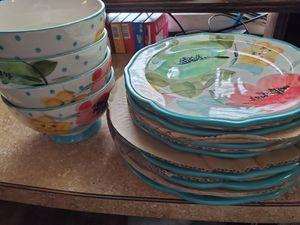 Pioneer Woman dish set for Sale in Wichita, KS