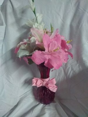 ***Pretty!!*** Pink/White Flower Arrangment for Sale in Plant City, FL