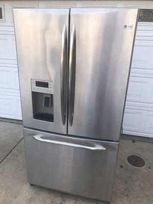 GE Profile Refrigerator - must go for Sale in Stockton, CA