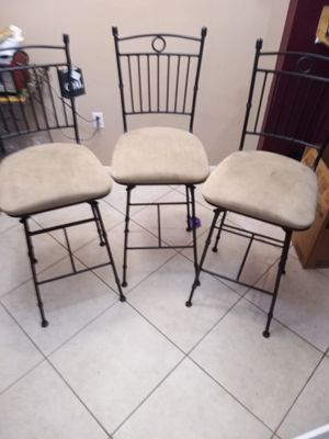 3Tan bar stools for Sale in Bradenton, FL