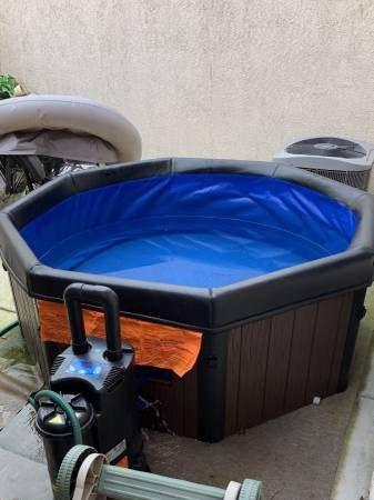 Brand new Outdoor/Indoor Hot Tub!!!!110v!!