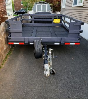 Tilting Utility trailer for Sale in Piscataway, NJ