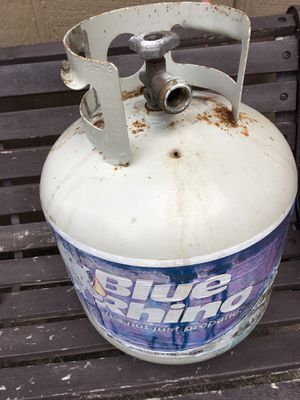 Blue rhino propane for bbq pit / rv / trailer for Sale in La Porte, TX