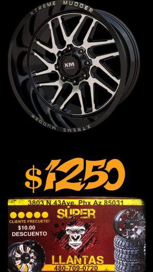 Rines y llantas 20x10 for Sale in Goodyear, AZ
