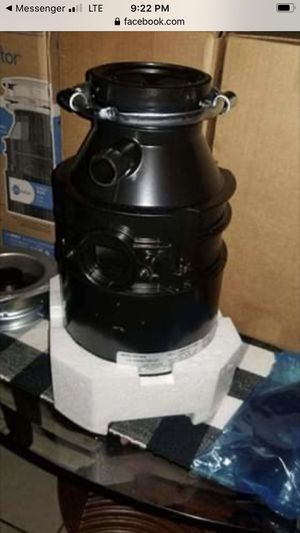 $115 GARBAGE DISPOSAL W/INSTALLATION for Sale in North Las Vegas, NV
