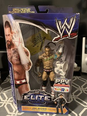WWE Mattel Elite BAF Jim Ross CM Punk for Sale in Bakersfield, CA