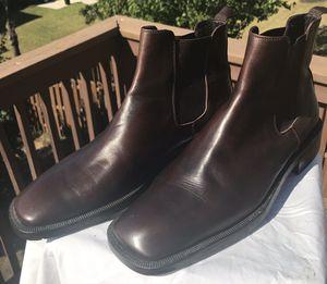 Men's Barney's New York Heavy Duty Brown Chelsea Boots Sz10.5 for Sale in Mableton, GA