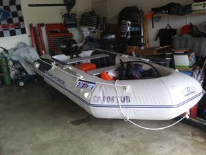 2017. Inflatable boat with 15 hp Mercury for Sale in Lake Elsinore, CA
