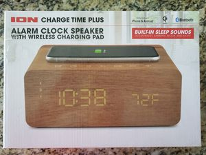 ION Charger Alarm Clock Speaker for Sale in Gibsonton, FL