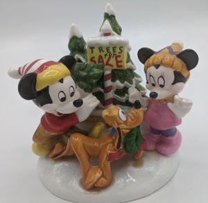 Disney Schmid Mickey and Minnie Christmas tree figurine for Sale in Seattle, WA