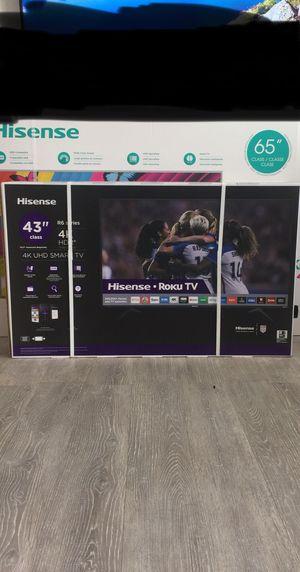 43 INCH SHARP ROKU 4K SMART TV for Sale in Chino, CA