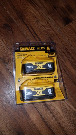 Dewalt batteries pack 6.0AH for Sale in Smyrna, TN