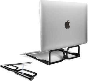 Suntaiho Laptop Stand,Portable Foldable Computer Stand Laptop with Angle,Ergonomic Aluminum Notebook Holder Stand for MacBook ProAir, Dell, Hp,Surface for Sale in Glendale, AZ