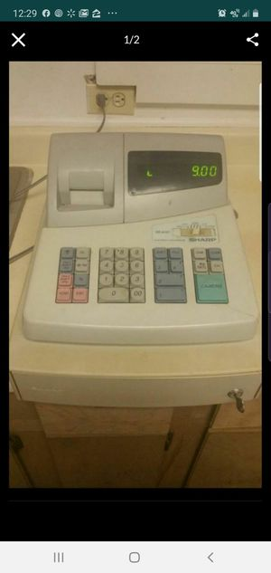 Sharp cash register for Sale in Eagle Lake, FL