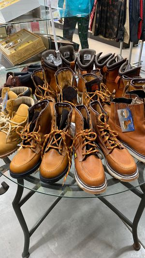 Work boots sale for Sale in Haines City, FL