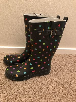 Women's rain boots Size 9 , brand new for Sale in Beaverton, OR