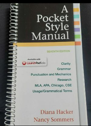 A Pocket Style Manual for Sale in Oceano, CA