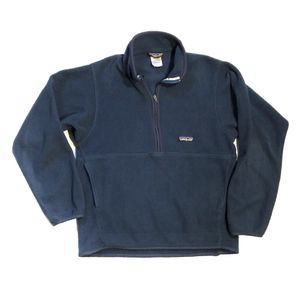 Patagonia Synchilla 1/2 Half Zip Fleece Pullover Jacket Blue Mens Size Small for Sale in San Antonio, TX