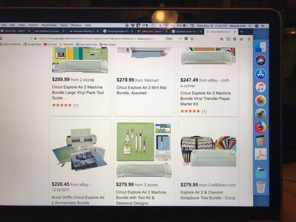 Cricut Explorer Air 2 mint! Best ON LINE Price!!! See what others are  selling for! for Sale in Forest Park, IL - OfferUp