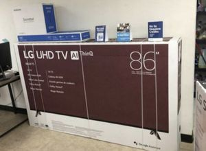 "86"" Lg smart 4K led uhd hdr tv for Sale in Chula Vista, CA"