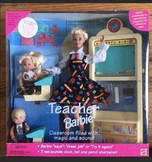 Perfect condition teacher Barbie for Sale in Nashville, TN