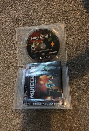 Minecraft (good condition, used) for Sale in Leominster, MA