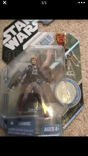 Star Wars Han Solo Action Figure for Sale in Cibolo, TX