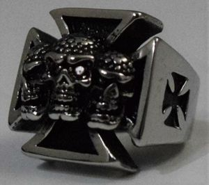 A German three skull ring from 20th century. for Sale in Peabody, MA