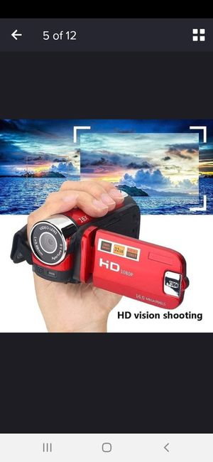 Full HD CAMCORDER 1080P 16 X ZOOM for Sale in Cambridge, MA