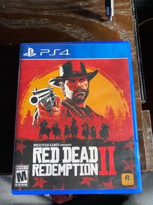 Red dead redemption 2 PS4 $12 for Sale in Las Vegas, NV