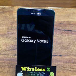 Samsung note 5 factory unlocked T-Mobile,cricket,metro pcs,straight talk,att,Verizon,sprint,boost Factory unlocked for Sale in Nashville, TN