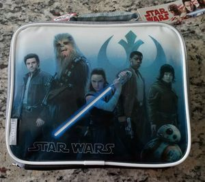 Star Wars The Last Jedi Soft Lunchbox for Sale in Tampa, FL