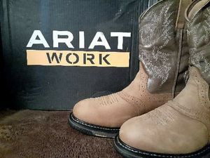 Ariat work boots for Sale in Chappell Hill, TX