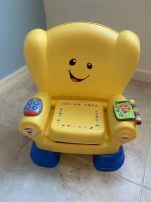 Fisher Price laugh & learn chair for Sale in HALNDLE BCH, FL