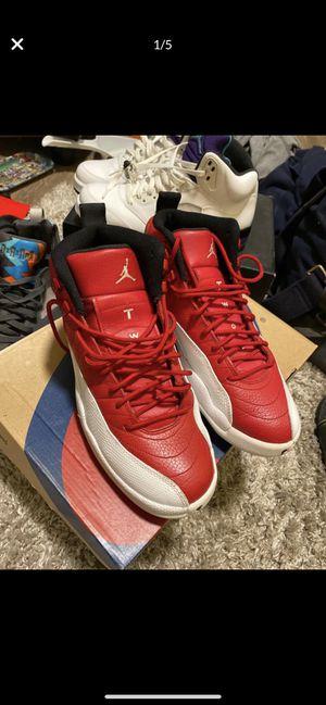 Jordan retro 12 red& white size 8 for Sale in Sacramento, CA
