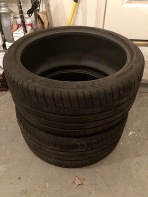 MICHELIN PILOT SPORT 3 255-35-19 x2 for Sale in Salem, MO