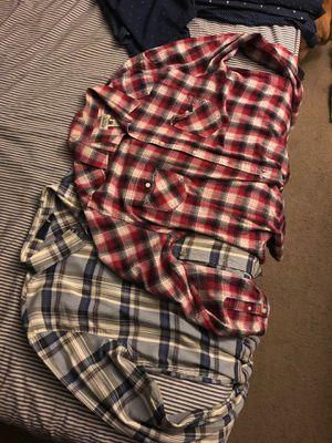 men's flannel shirts for Sale in Chula Vista, CA