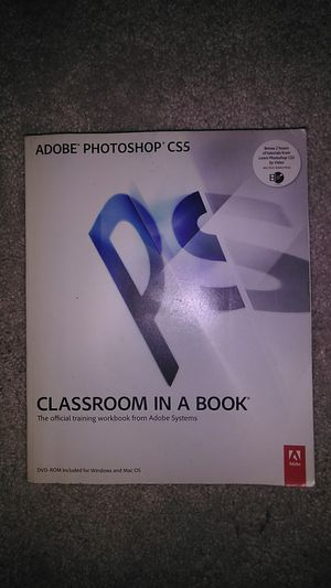 Photoshop cs5 classroom in a book for Sale in Brooklyn, NY