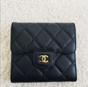 Chanel Inspired Caviar Wallet for Sale in Oxon Hill, MD