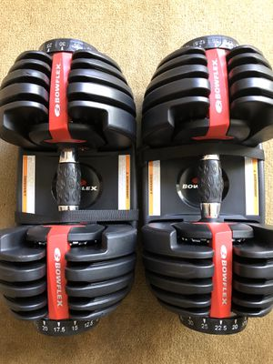 Bowflex SelectTech 552 Adjustable Dumbbells 💪 for Sale in Los Angeles, CA