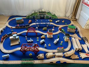 Thomas and friends wooden railways 🚃 for Sale in Seattle, WA