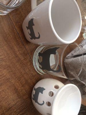 3 piece cat glassware Set -Brand New for Sale in Lexington, KY