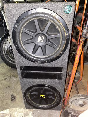 """(2). 12"""" kickers 4ohm 400rms for Sale in Chicago, IL"""